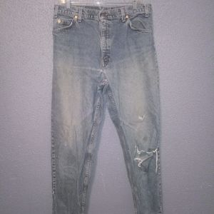 VTG 90s Levi's 550 Relaxed Fit Tapered Leg Jeans